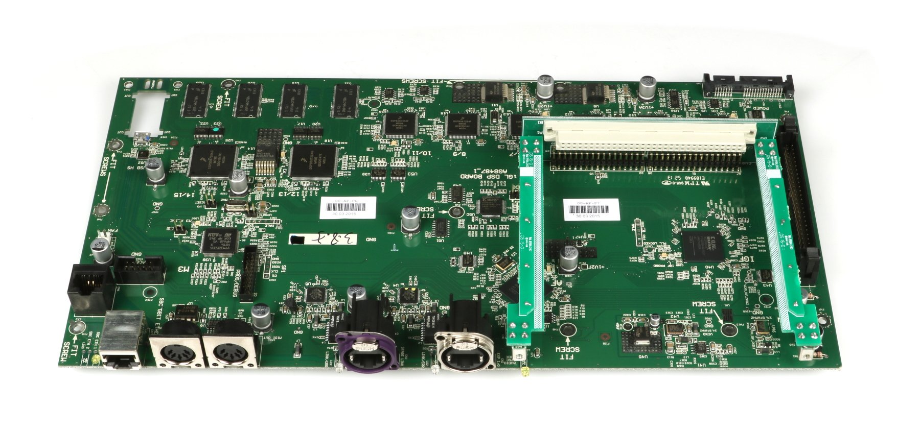 Allen & Heath 004-173X  GLD80 Main PCB 004-173X