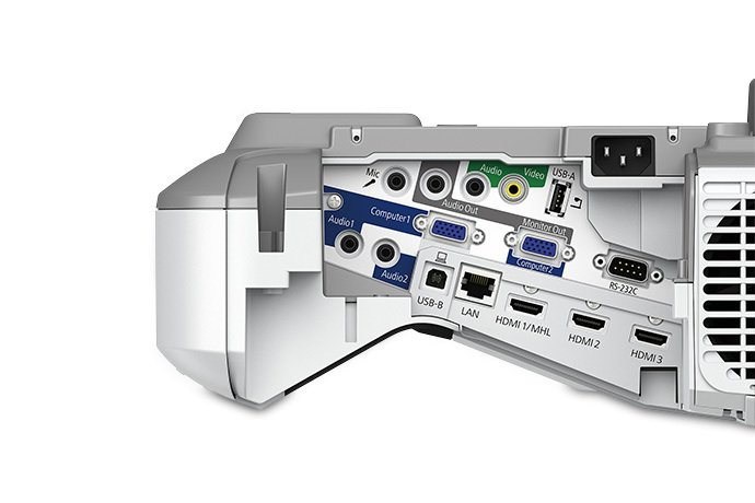3500 Lumen WXGA 3LCD Short-Throw Presentation Display Projector