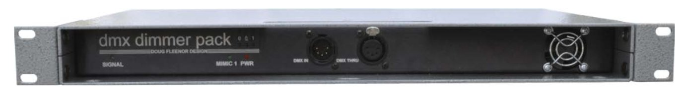 12 Channel 100W Rack Mount Dimmer - Reverse Phase