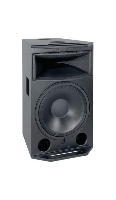 Speaker with NL4 Connectors, Nutplates, No Trim, in Black