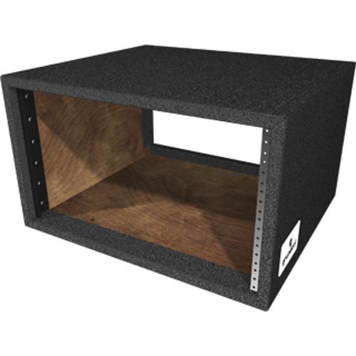 "6RU Carpet Series Rack Shell with 17.75"" Rackable Depth"
