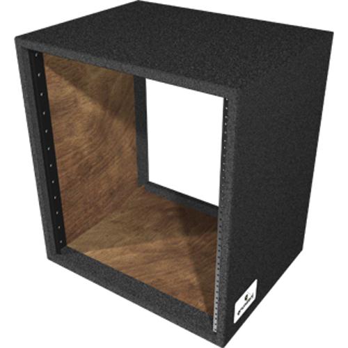 "12RU Carpet Series Rack Shell with 15.5"" Rackable Depth"