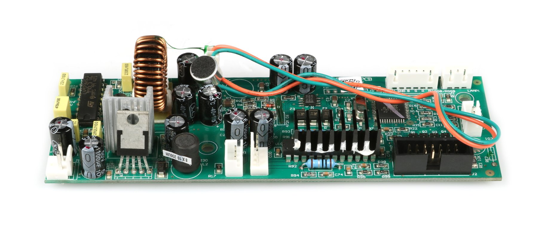 Main PCB Assembly for Quad Phase