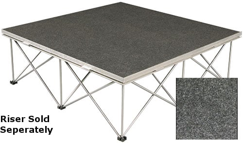 "48"" x 24"" Carpet Covered Duro Deck Platform"