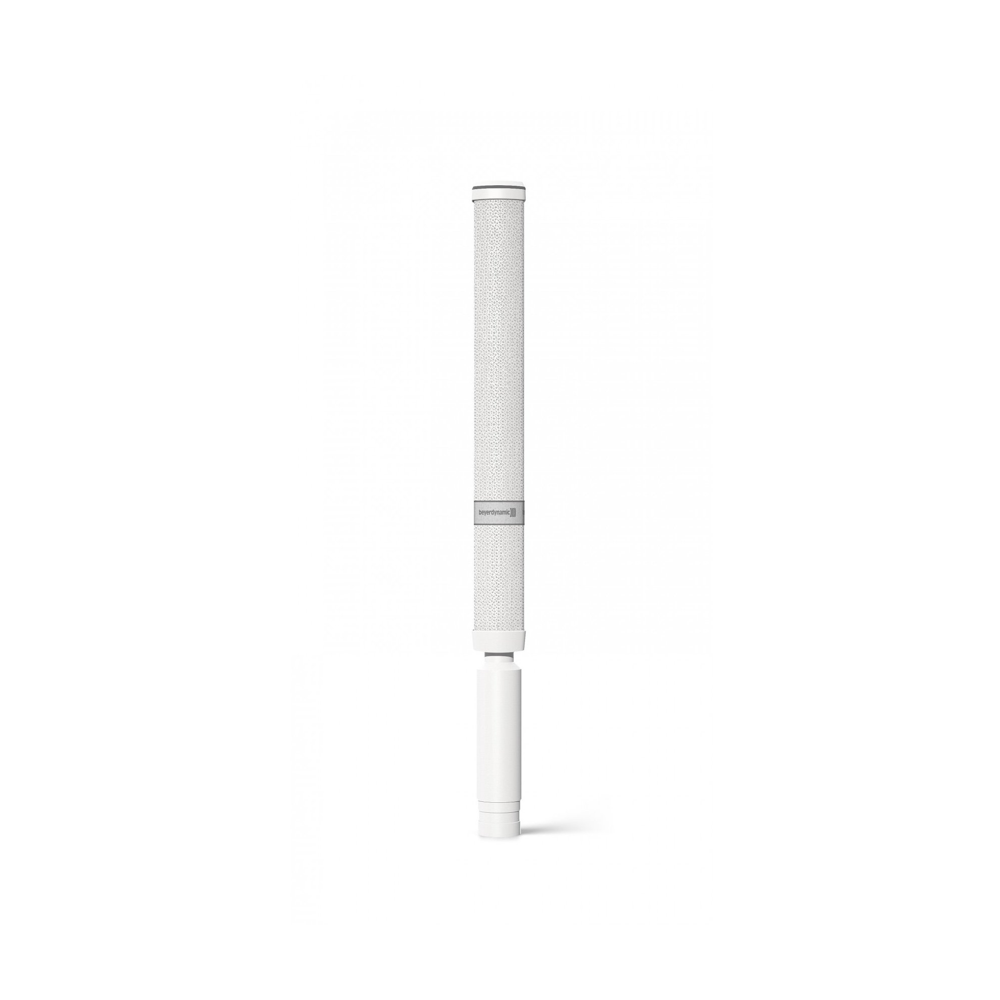 Revoluto Vertical Array Reclinable Microphone with 3-pin XLRM, in White