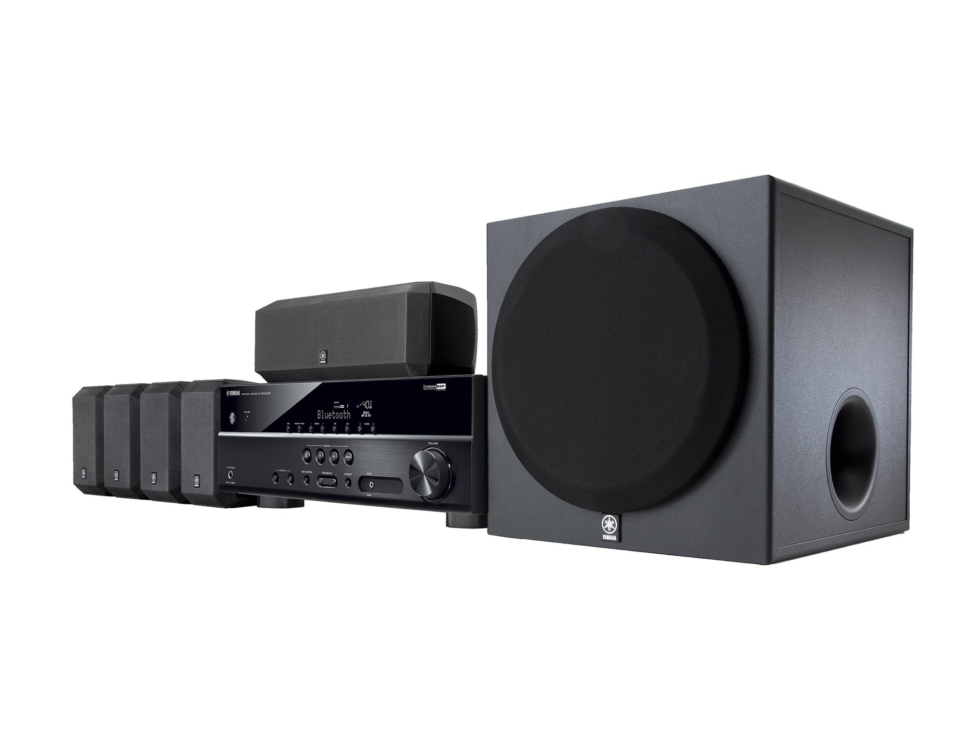Home Theater in a Box with 5.1, 4K Passthrough