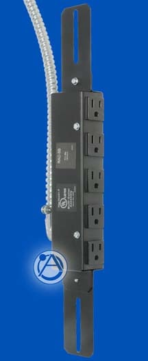 AC Outlet Strip 5 outlets 15A