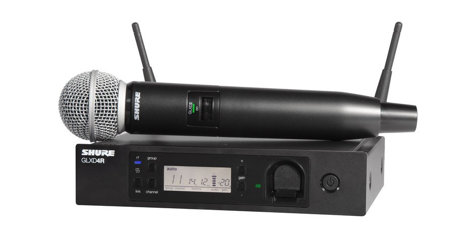 Handheld Wireless System with Shure SM58