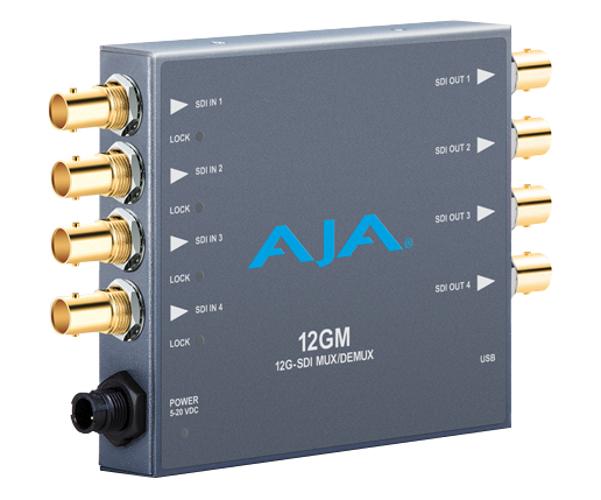 12G/6G/3G/1.5G HD/SD SDI Muxer/DeMuxer