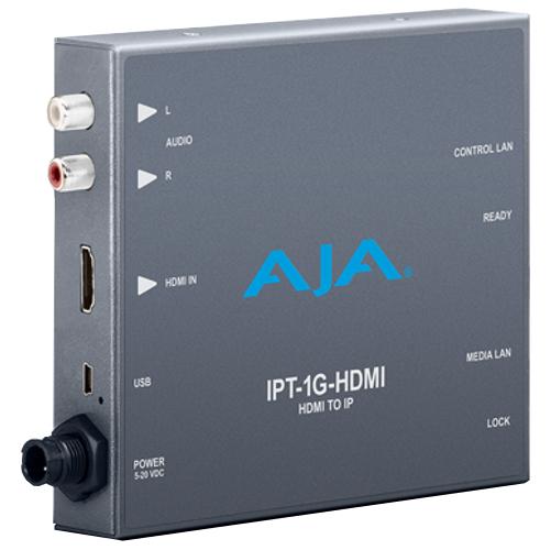 HDMI to JPEG 2000 IP Video and Audio Mini-Converter