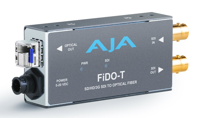 Single Channel SDI to LC Fiber Converter