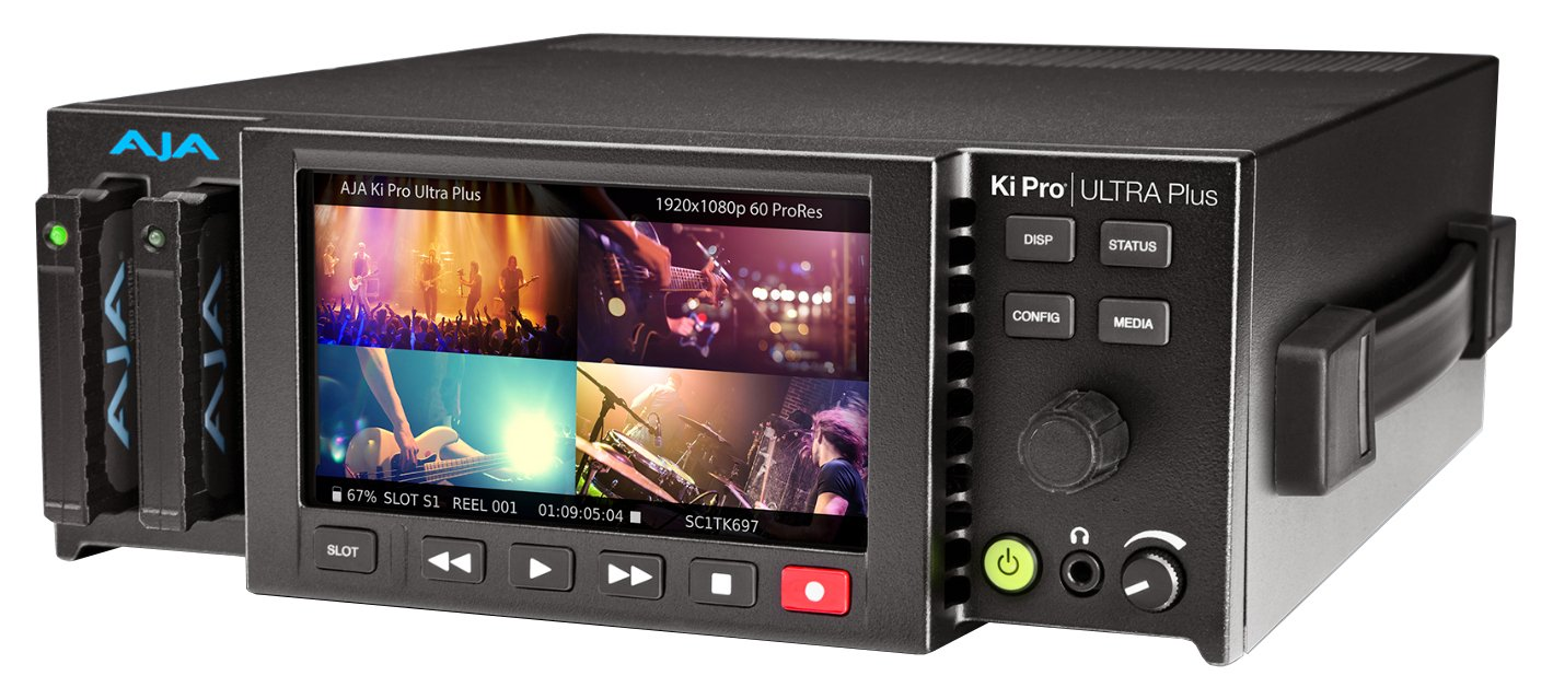 4K/UHD and 2K/HD Recorder/Player with Multi-Channel Support