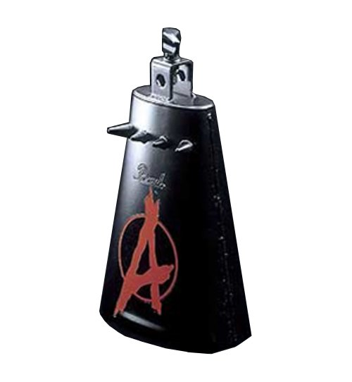 Anarchy Heavy Metal Cowbell