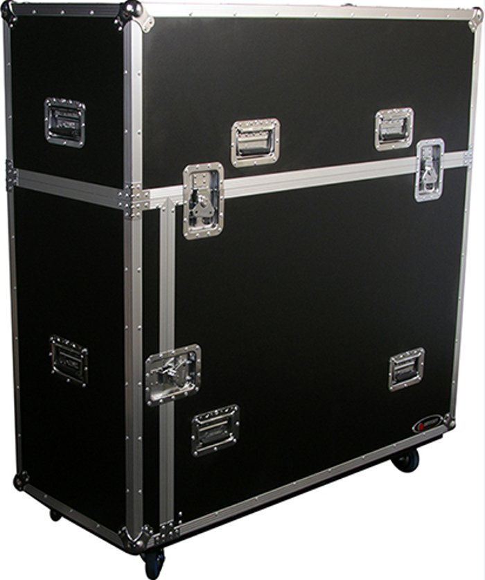 Road Case with Wheels for Platforms and Risers