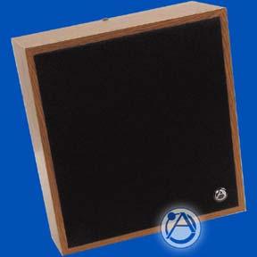"8"" Slanted Wall Mount Speaker/Baffle Package 25V-5W Transformer"