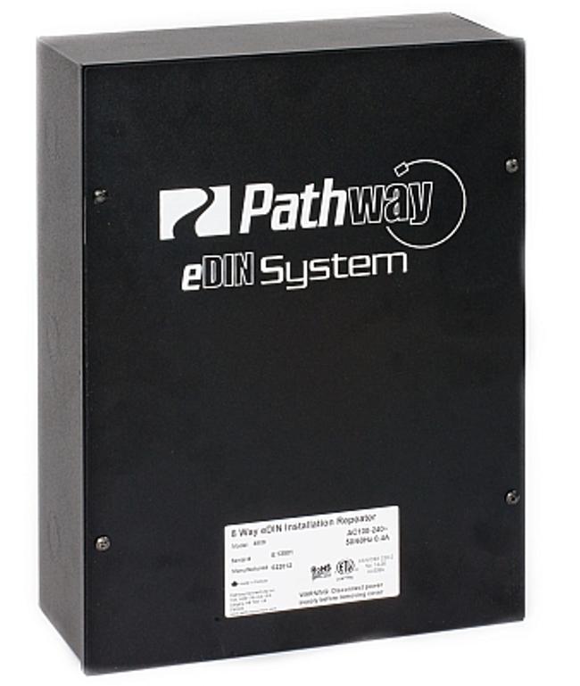 eDIN DMX 4-way Installation Repeater