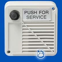 Outdoor Surface Mount Intercom Stations with Compression Driver and Call Switch 15W 8 ohms