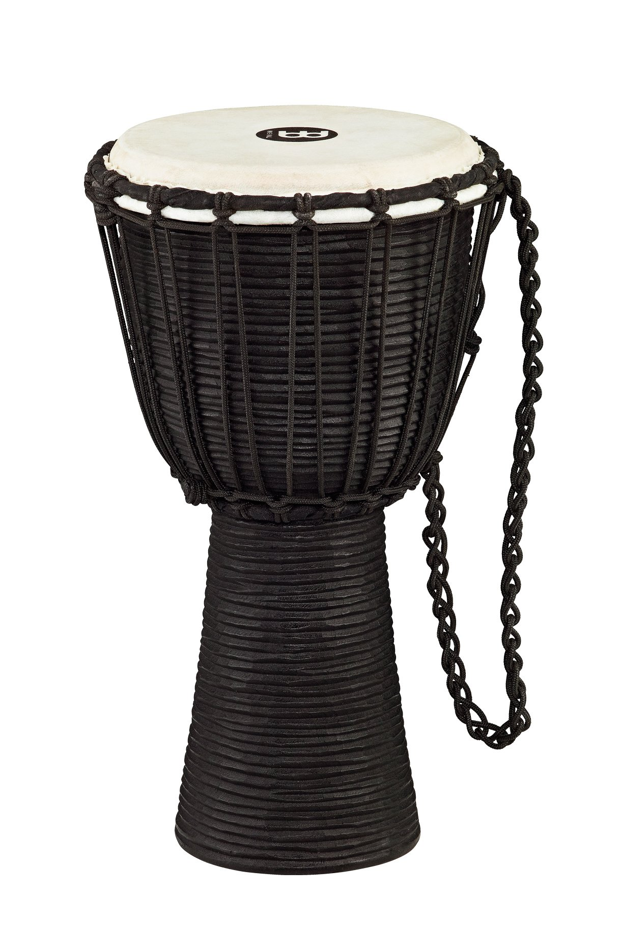 "8"" Black River Series Rope Tuned Wood Djembe"