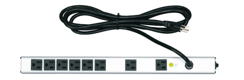 Middle Atlantic Products PWR-8-V  8 Outlet Essex Vertical Power Strip PWR-8-V