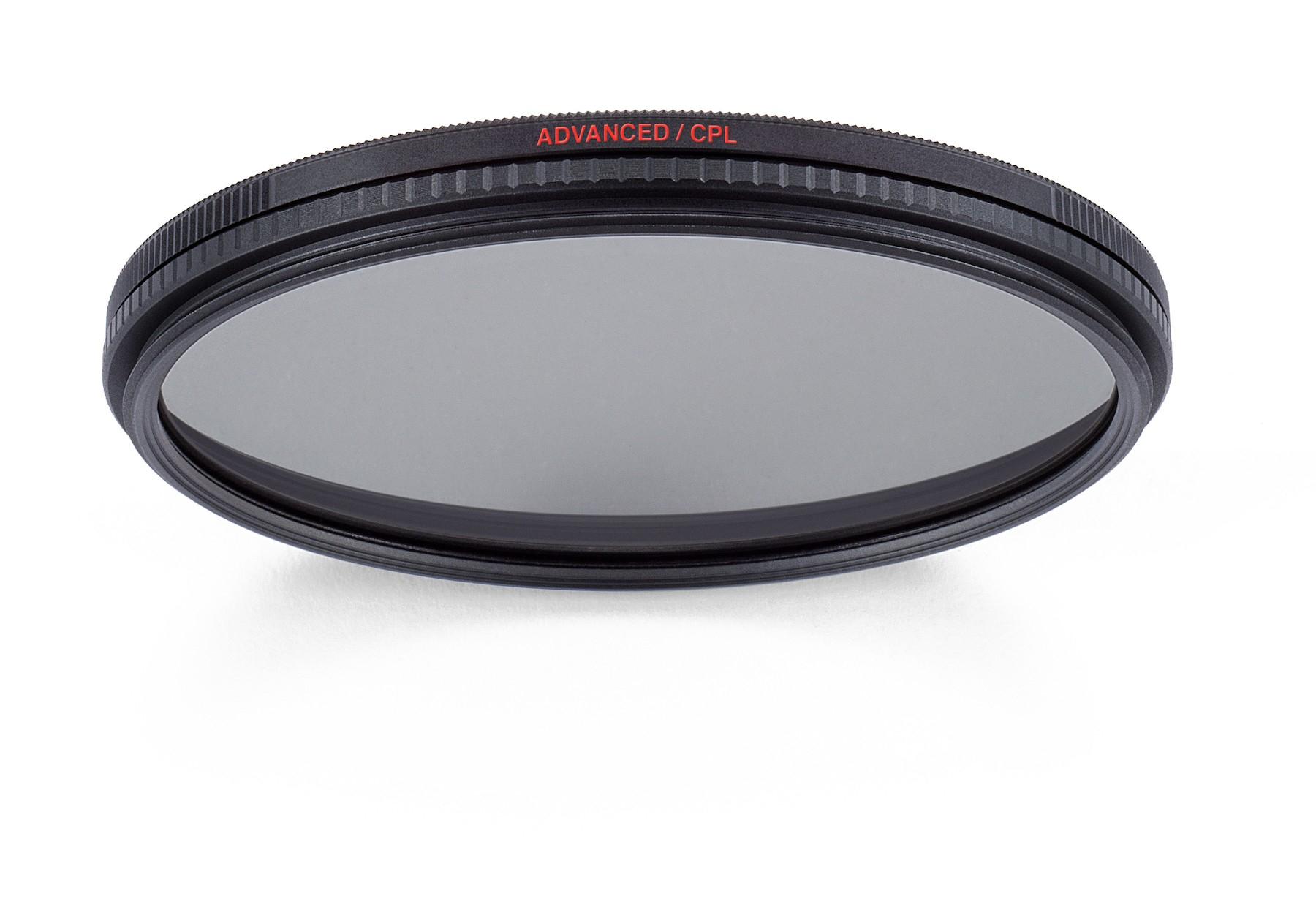 Manfrotto MFADVCPL-77 77mm Advanced Circular Polarizing Filter MFADVCPL-77