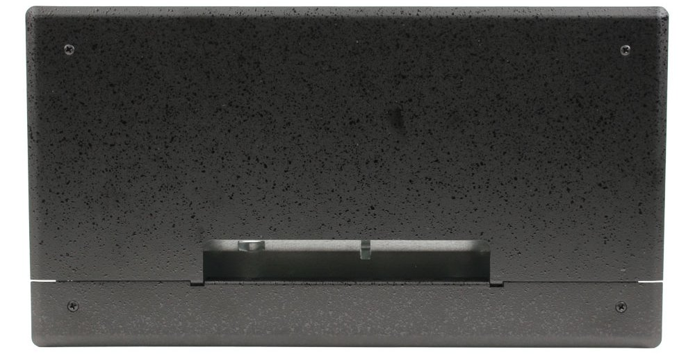Flat Panel Display Wall Box with Decora and Duplex Cover Plates