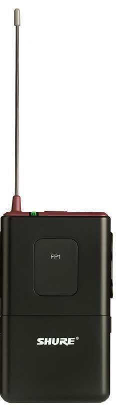 Shure FP1-G5 [RESTOCK ITEM] Bodypack Transmitter, 494-518 FP1-G5-RST-01