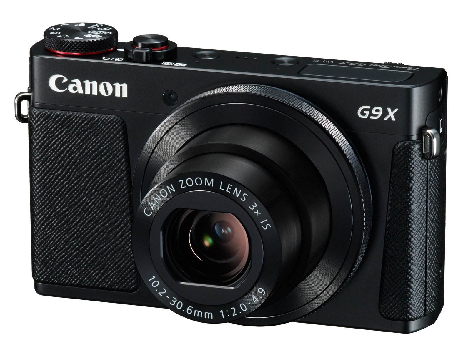 20.1MP Compact Camera in Black or Silver
