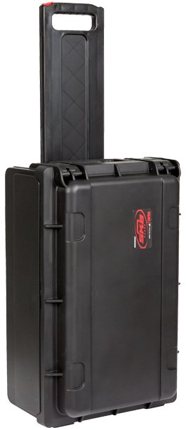 SKB Cases 1SKB-iSF2U Injection Molded 2RU Rack Studio Flyer Rack and Laptop Combo Case 1SKB-ISF2U