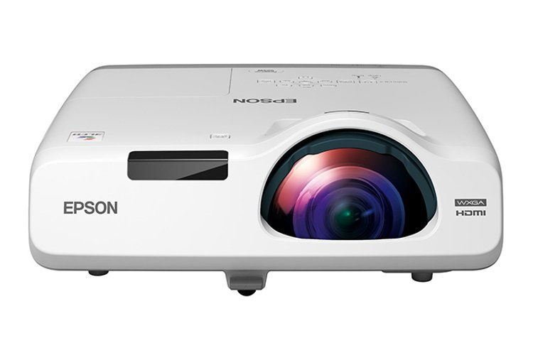 Epson POWERLITE-525W  2800lm WXGA 3LCD Short Throw Projector POWERLITE-525W