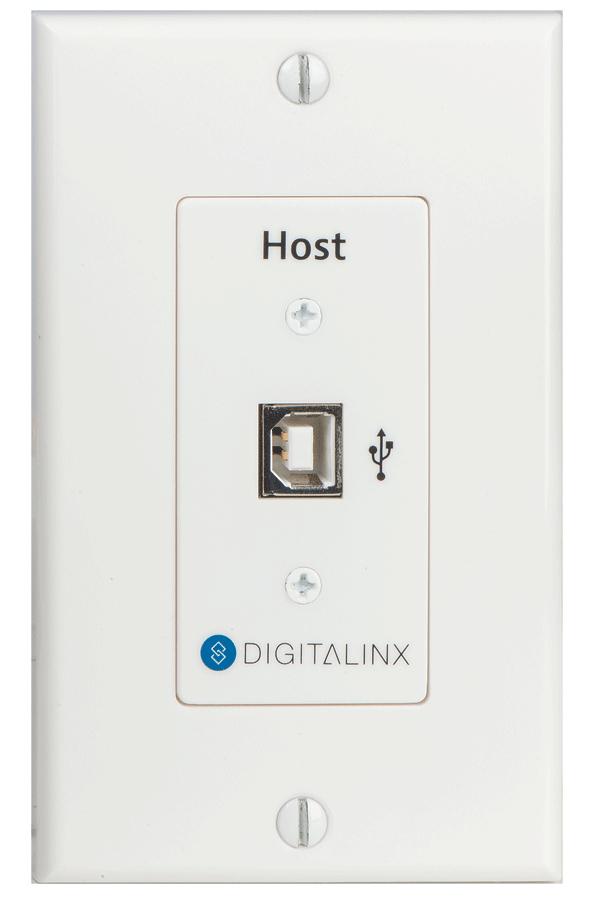 USB 2.0 Hi-Speed Twisted Pair Extender WP Host