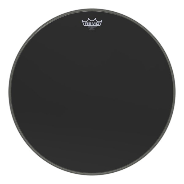 "Remo ES-1020-00 20"" Ebony Bass Drum Head ES-1020-00"