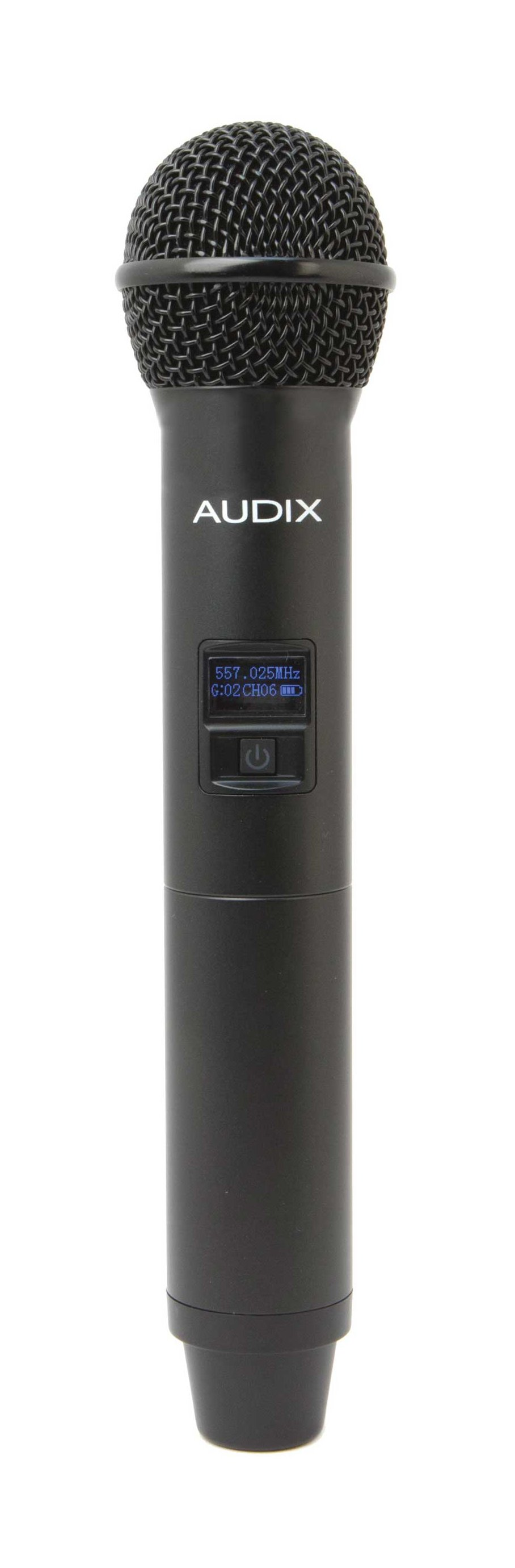 Handheld Transmitter Microphone with OM6 Capsule