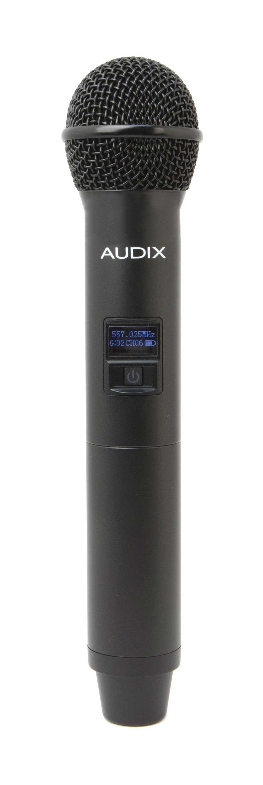 Handheld Transmitter Microphone with OM7 Capsule, 64 MHz