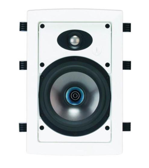 """3-Way 6.5"""" 90W In-Wall Discrete Loudspeaker"""