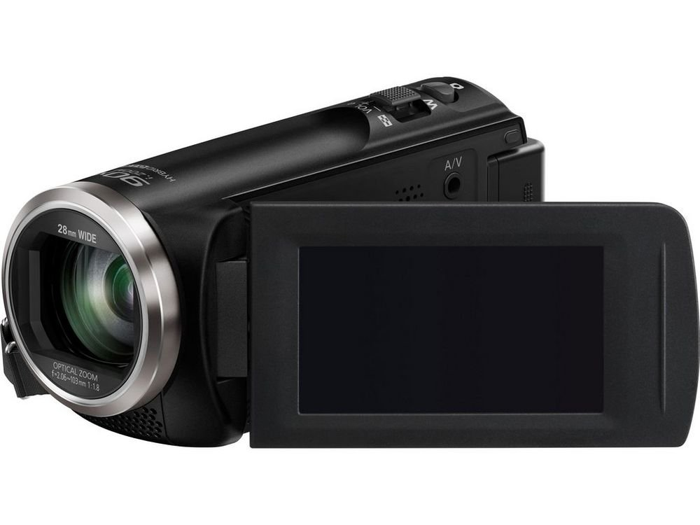 Camcorder with 50x Optical Zoom