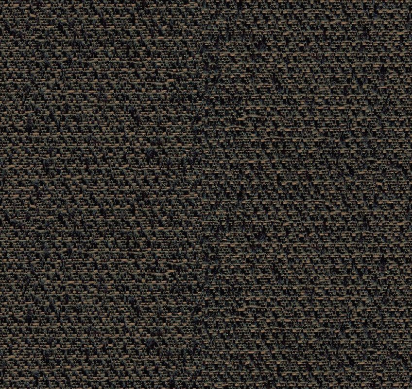 """Beveled 2"""" x 2ft x 2ft Panel with Obsidian Fabric"""