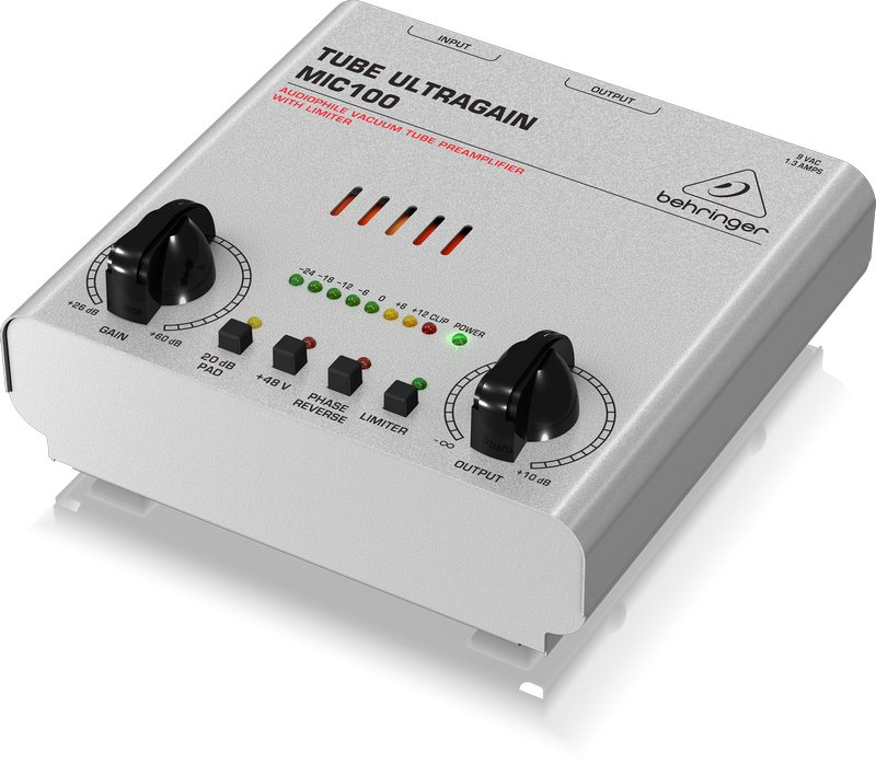 Behringer MIC100 Tube Mic Preamp MIC100