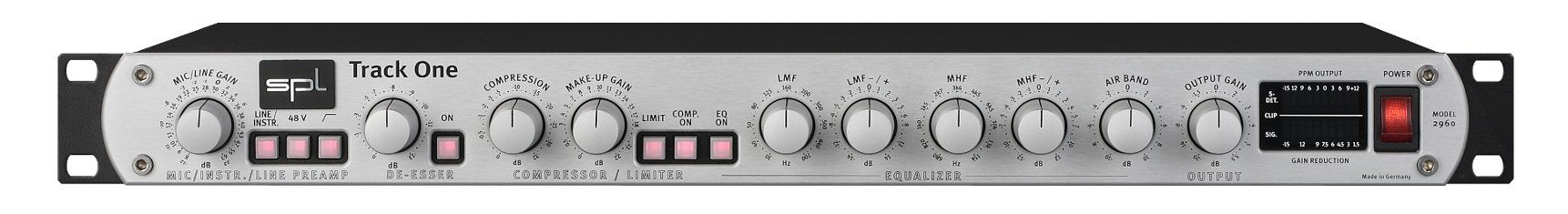 SPL Sound Performance Lab Track One Transistor Preamp 2058 TRACK-ONE