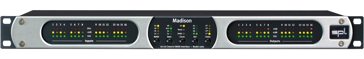 16+16 Channel MADI Interface