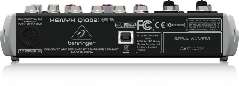 10-Ch 2-Bus USB Mixer