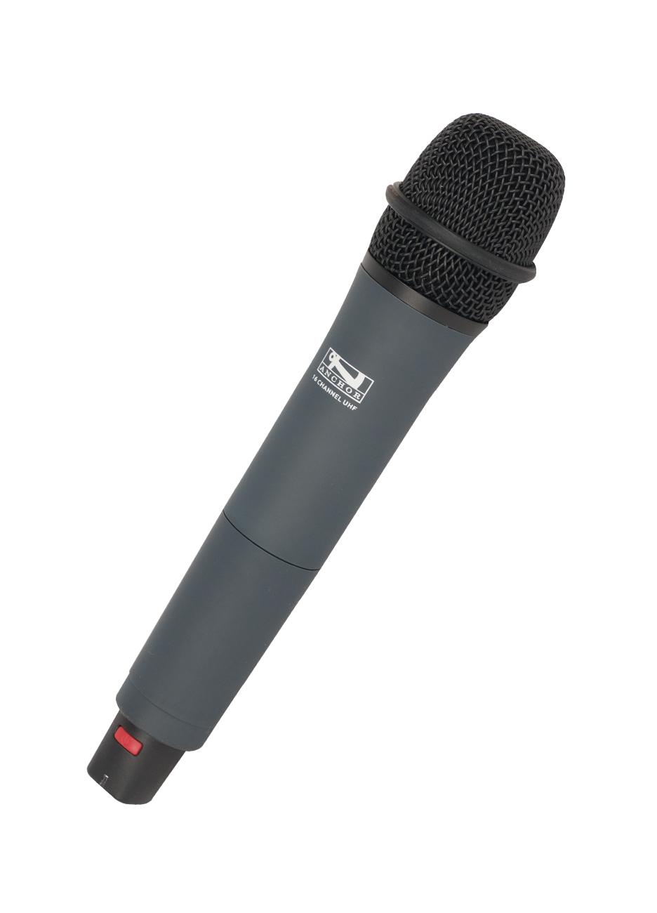Wireless Handheld Microphone, 682-698 MHz Frequency Range