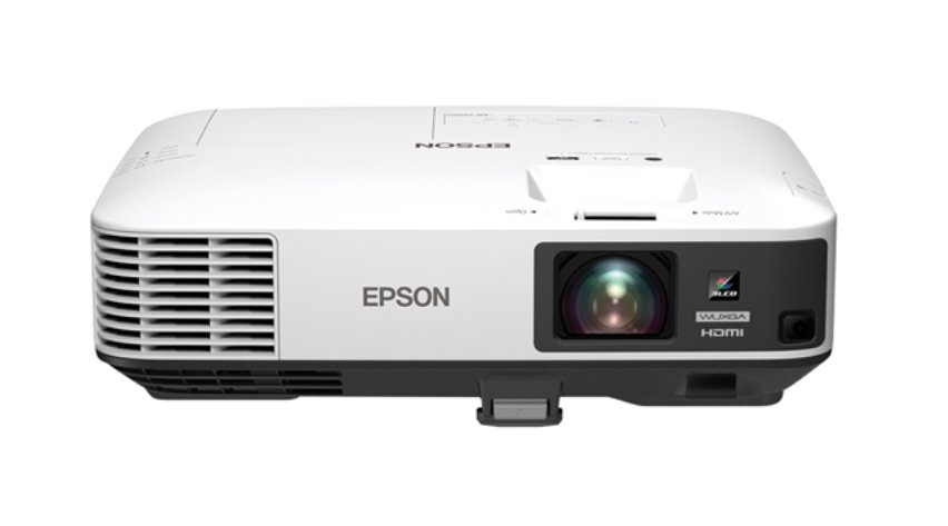 5000 Lumen 3LCD WUXGA Projector with Optional Wireless Networking