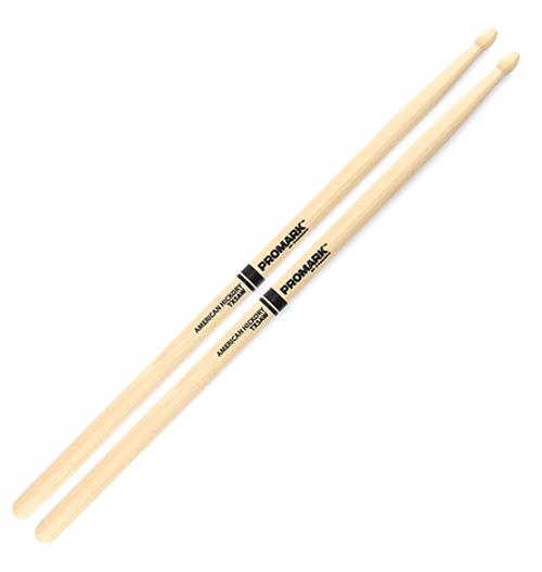 Hickory 5A Wood Tip Drum Sticks (PAIR)