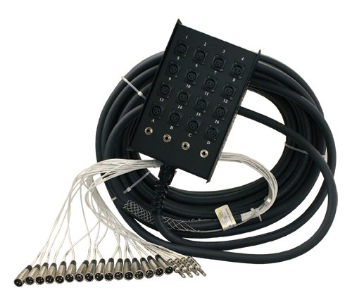 200 ft, 16 Channel Stage Snake with No Returns