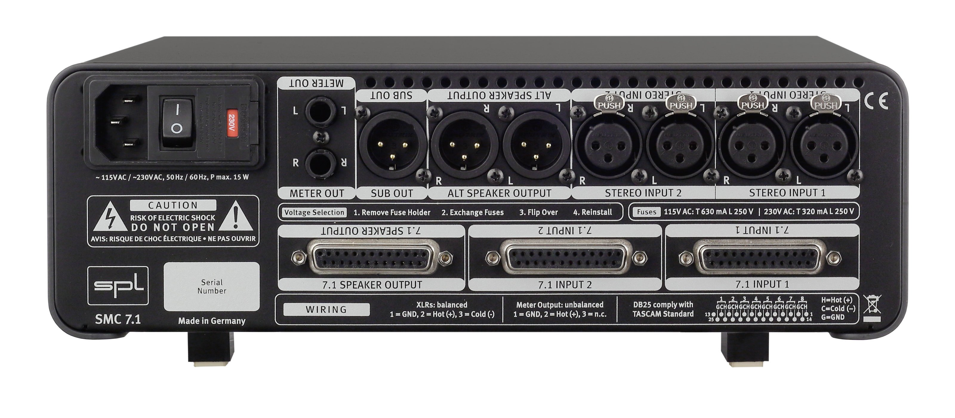 7.1 Surround Monitor Controller