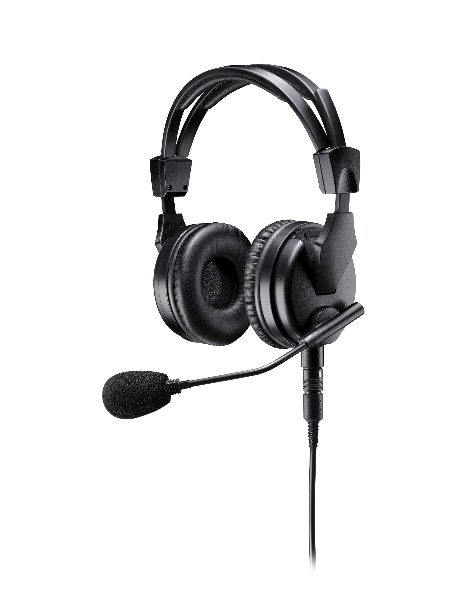 Premium Dual-Sided Broadcast Headset. Includes BCASCA-NXLR3Q