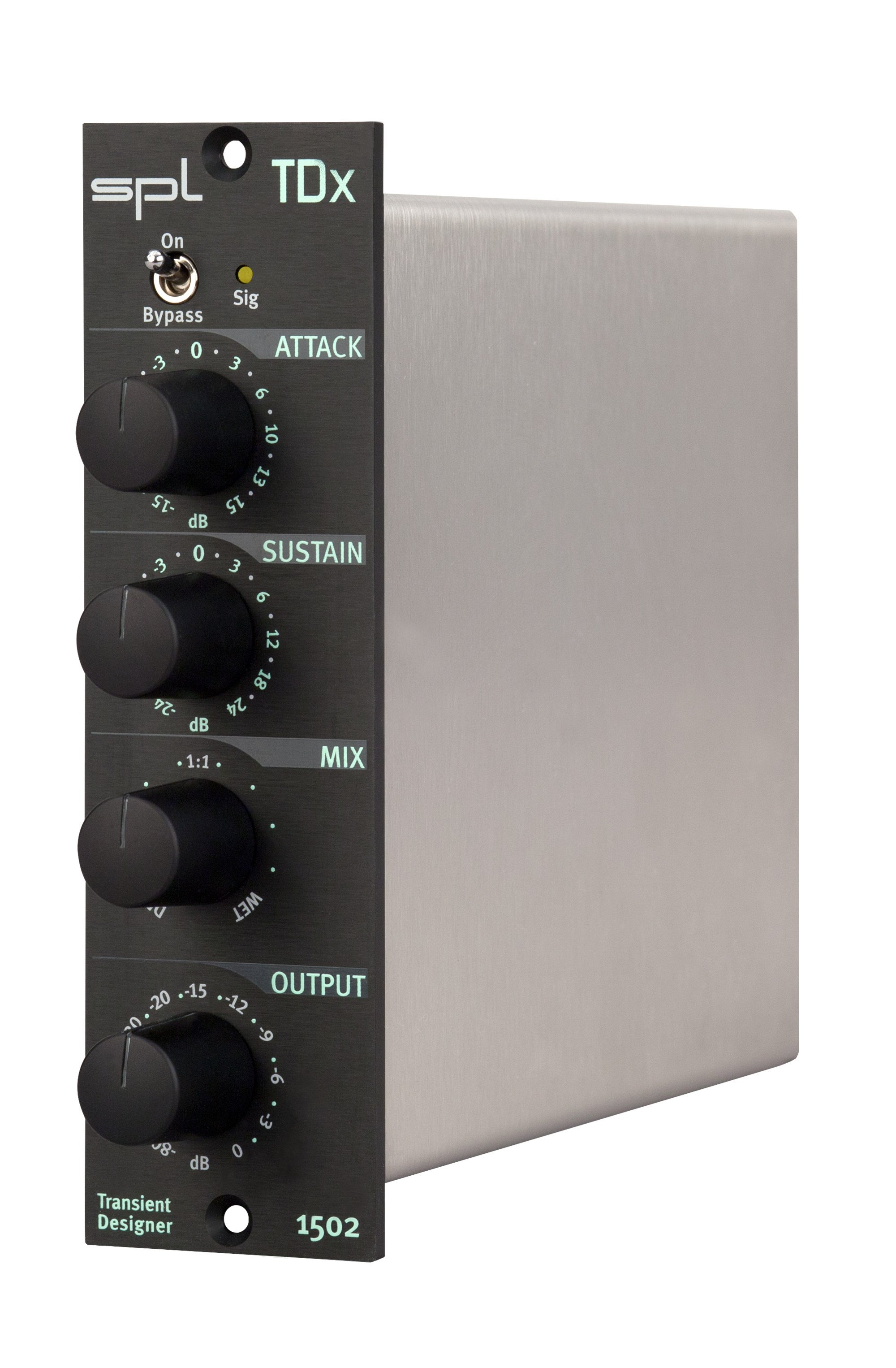SPL Sound Performance Lab TDx Transient Designer 500 Series module TDX