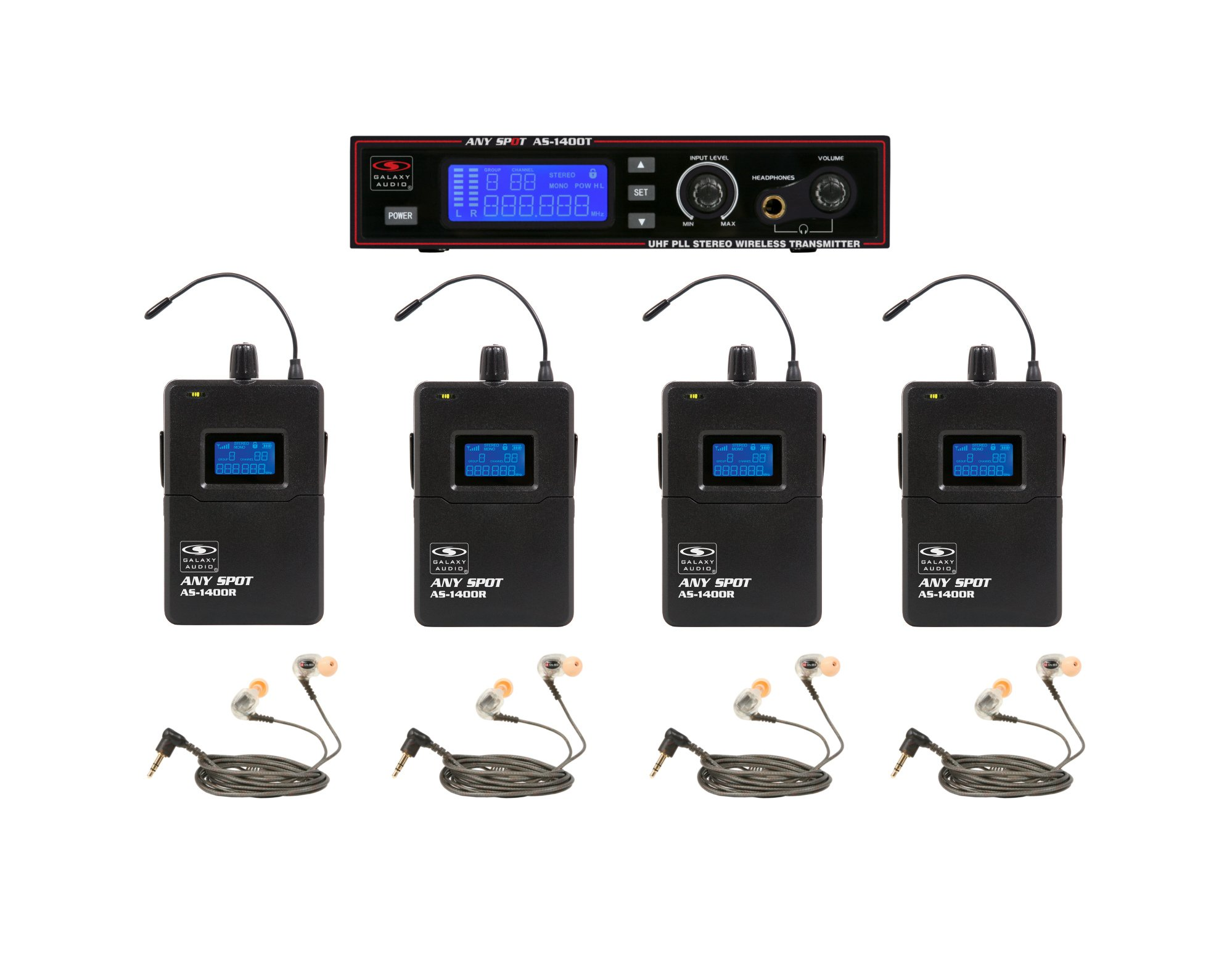 Wireless Personal Monitor Bandpack System with EB10 Ear Buds