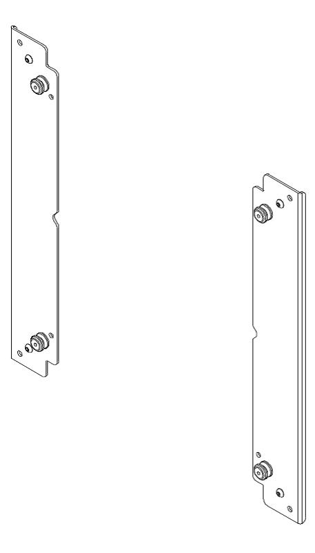 "Flat Panel Custom Interface Bracket for 37""-65"" Displays"