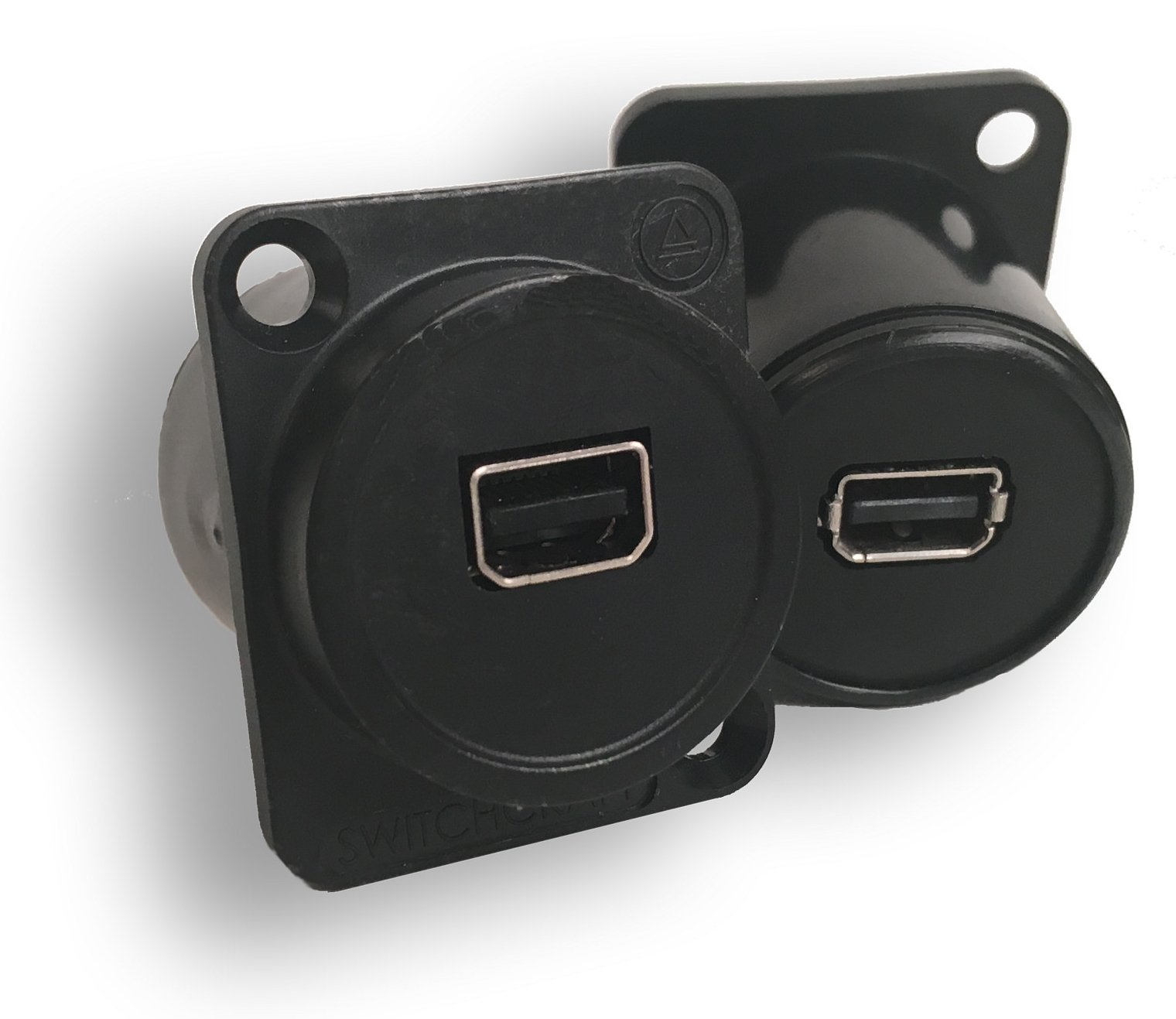 EH Series Mini DisplayPort to Mini DisplayPort Feed-Thru Connector